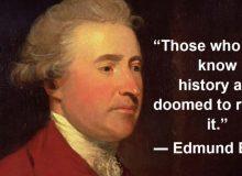 RIP Good Times Edmund Burke