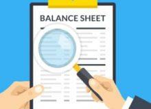 product manage balance sheet