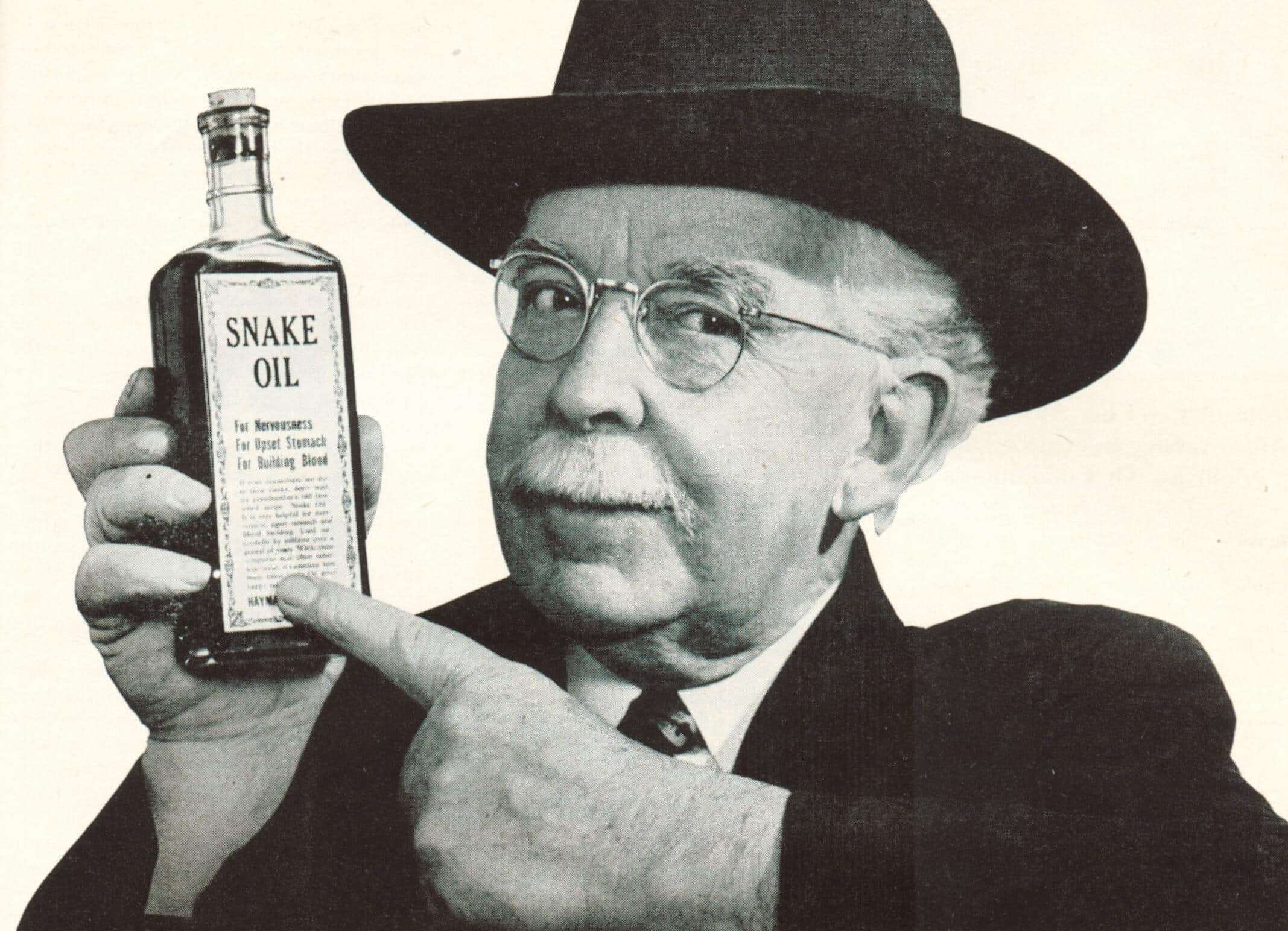 product manager snake oil