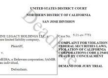 Ozy Media Investor Lawsuit